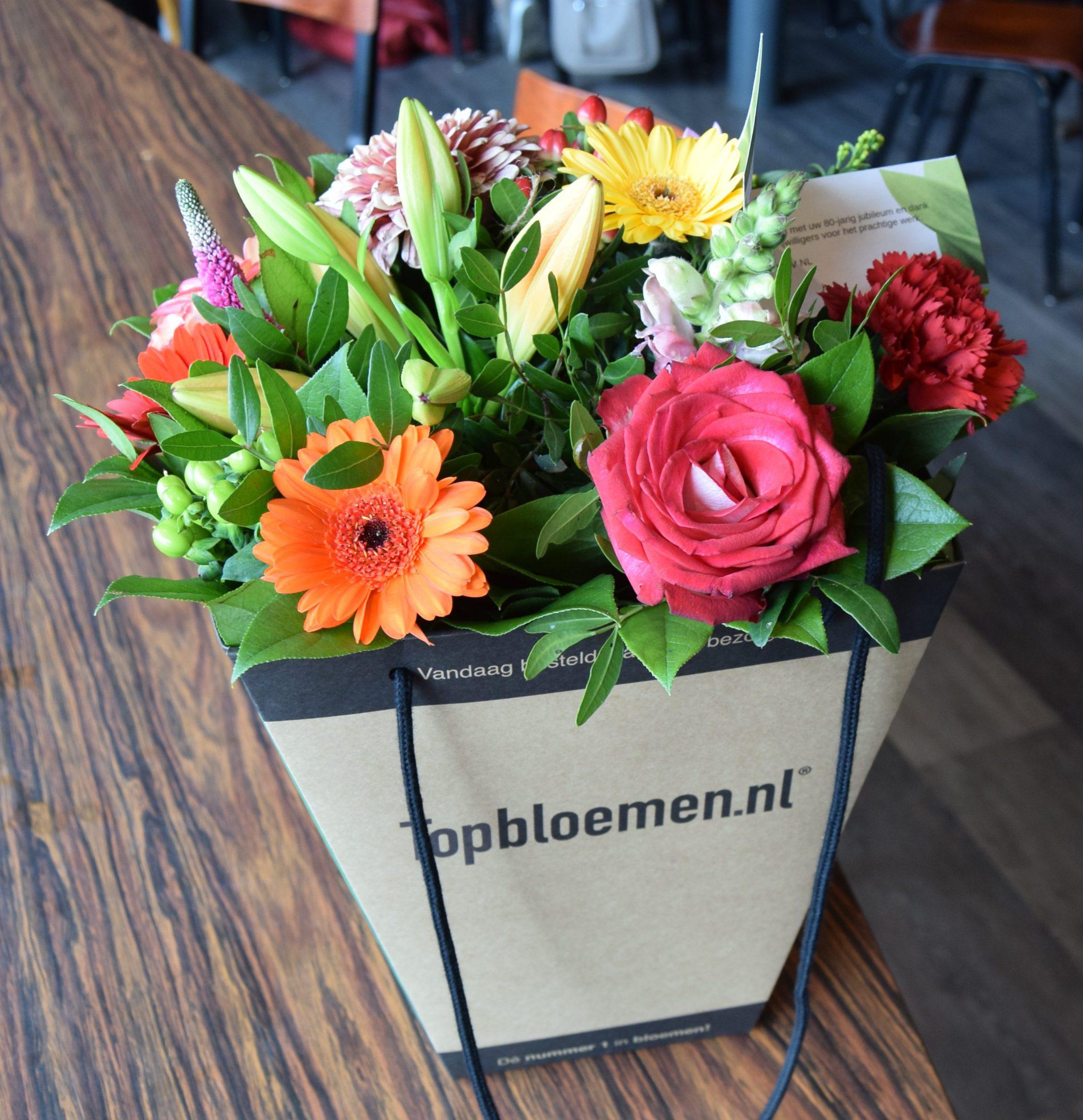 UVV Enschede bloemen